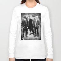 blur Long Sleeve T-shirts featuring Blur by Dasha Borisenko