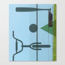 Lawn study 2 Canvas Print