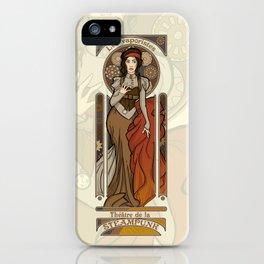 Steampunk Nouveau- Cream iPhone Case