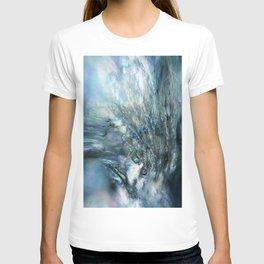 Sea Dog Abstract T-shirt