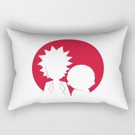 Rick And Morti Rectangular Pillow