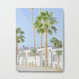 Modernist Desert, Palm Springs Metal Print