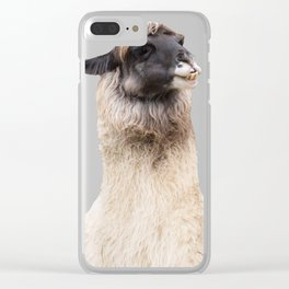 LAMA ( LLAMA) Clear iPhone Case