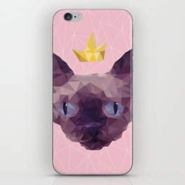 King Cat. iPhone Skin