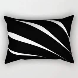Negative Claw Rectangular Pillow