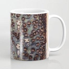 Soot sprites (Susuwatari) Coffee Mug