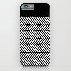 Herringbone Boarder Slim Case iPhone 6s