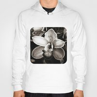 orchid Hoodies featuring Orchid  by Ethna Gillespie