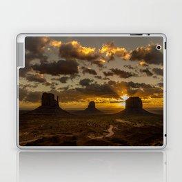 Monument Valley - Vivid Sunrise Laptop & iPad Skin