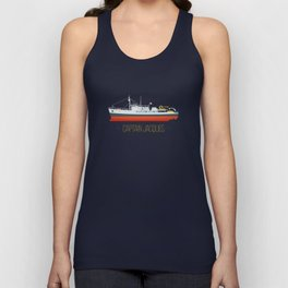 Captain Jacques' Boat Unisex Tank Top