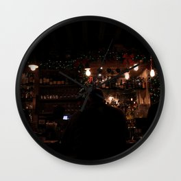 One More Round Wall Clock