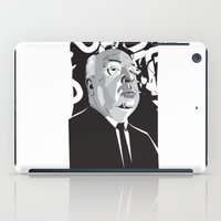 hitchcock iPad Cases featuring Hitchcock by Matt Fontaine