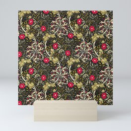 "William Morris ""Seaweed"" 5. Mini Art Print"