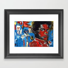Tag Framed Art Print