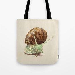 Snail Two Tote Bag