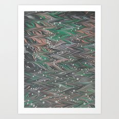 Marble Print #50 Art Print