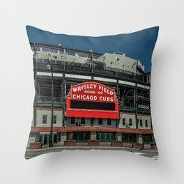 Full Color Wrigley Throw Pillow