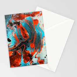 Cherry Ripples Stationery Cards