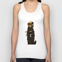 beard Tank Tops featuring Beard by George Azmy