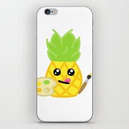 Arty Pineapple iPhone Skin