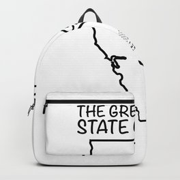 The great state of California - USA flag Backpack