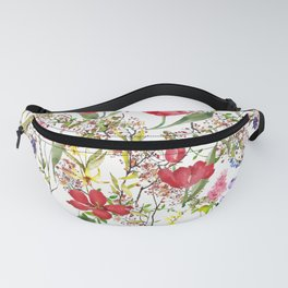 Wild and Free Spring Flowers Fanny Pack