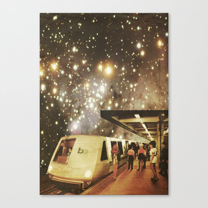 Enter the night  Canvas Print