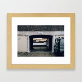 Cadogan Lane #2 Framed Art Print