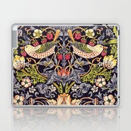 William Morris Strawberry Thief Art Nouveau Painting Laptop & iPad Skin