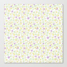 Cute floral pattern . Canvas Print