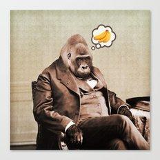 Gorilla My Dreams Canvas Print