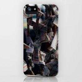 Omikuji iPhone Case