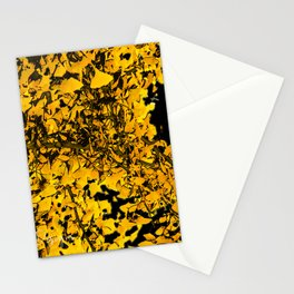 Ginko Leaves In California Stationery Cards