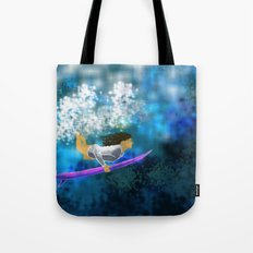 Under the wave Tote Bag