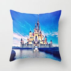 Disney Magic Castle Throw Pillow