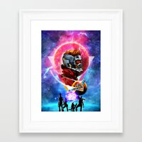 guardians of the galaxy Framed Art Prints featuring Guardians of the Galaxy by Alfredo Roagui