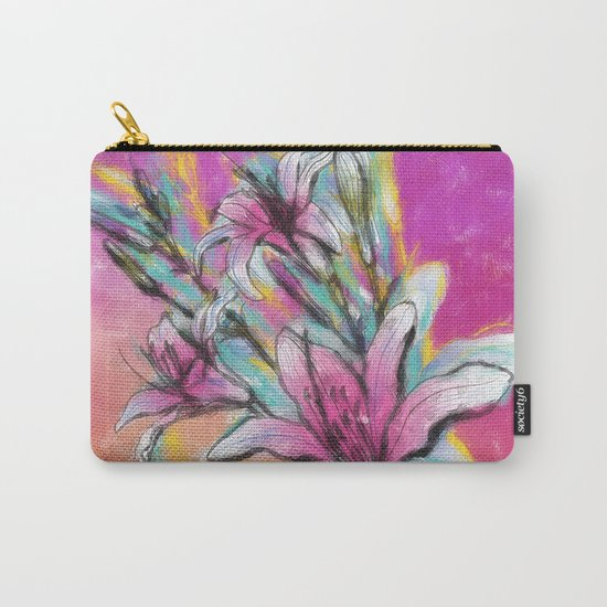 Colorful Spring mood Carry-All Pouch