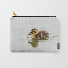 Duckling swimming Carry-All Pouch