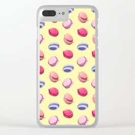 Macaron Fever Clear iPhone Case