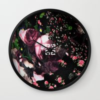 givenchy Wall Clocks featuring Givenchy all over flower and camo printed nightingale  with detachable shoulder strap and one int by Le' + WK$amahoodT Boutique by Paynasa®