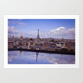 Reflections of Paris Art Print