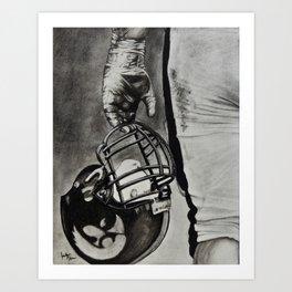 Iowa Football Art Print