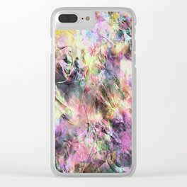 Colours ZZ Y Clear iPhone Case