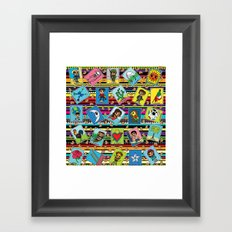 Loteria Night Framed Art Print