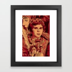 Scott Pilgrim VS the World Framed Art Print