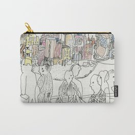 NYC buildings Carry-All Pouch