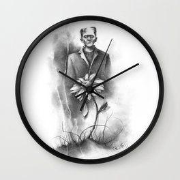 The Sadness in all Monsters Wall Clock