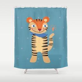 Little Tiger Shower Curtain