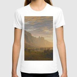 Looking Down Yosemite Valley, California T-shirt