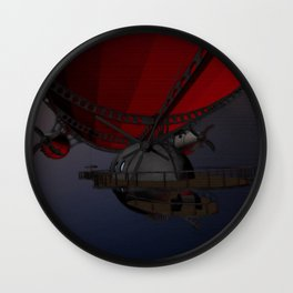 Airship Pioneers Wall Clock